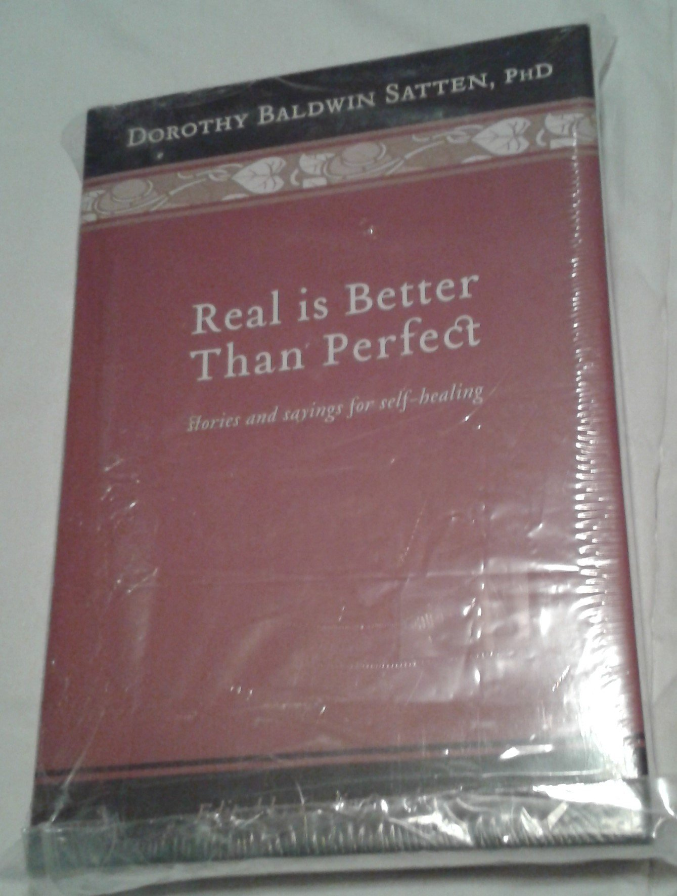 Real Is Better Than Perfect PDF