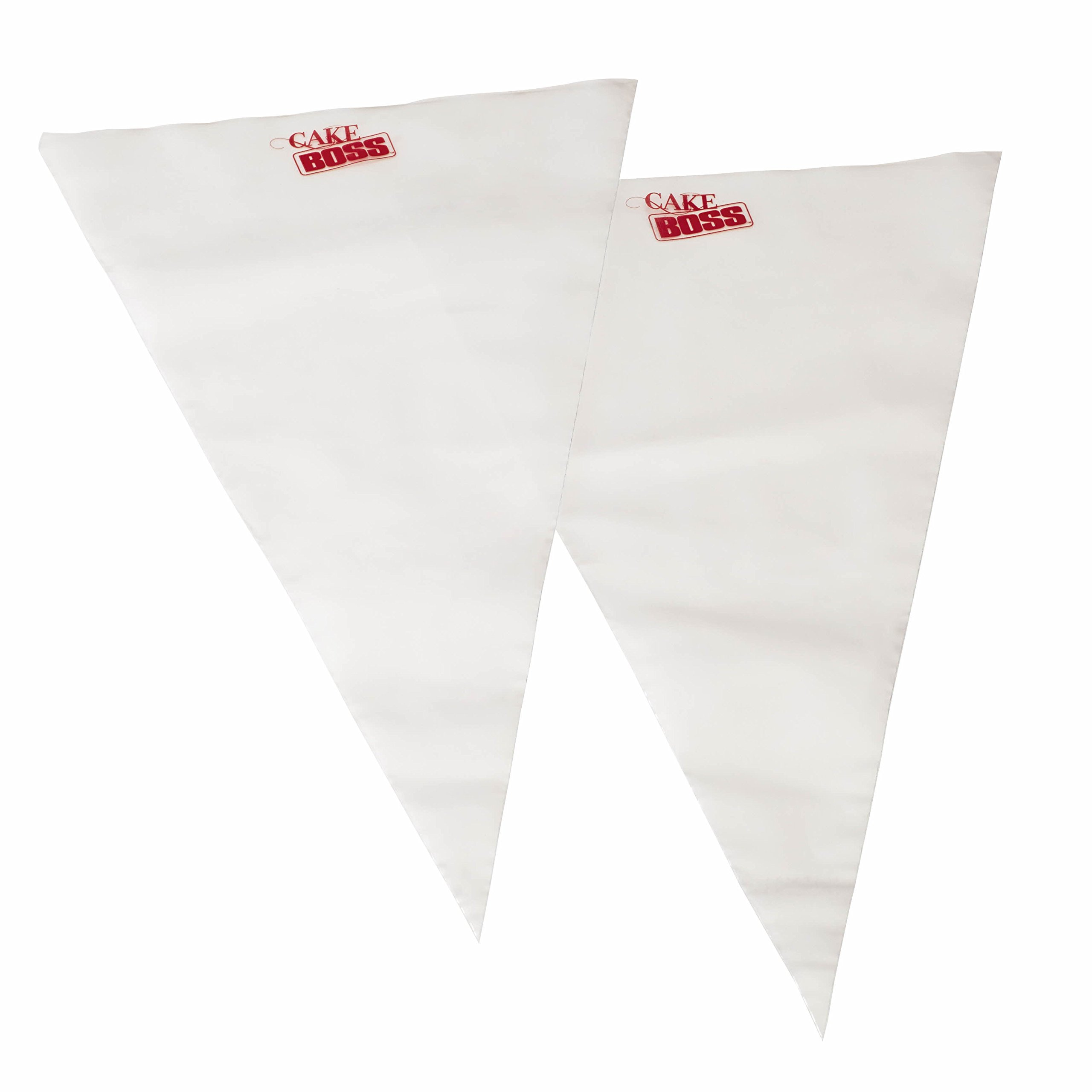 Cake Boss Decorating Tools 18-Inch Disposable Icing Duo Decorating Bags, 25 Count by Cake Boss