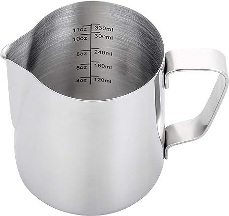 Amazon.com: Espresso - Jarra de vapor de leche espresso, 325 ...
