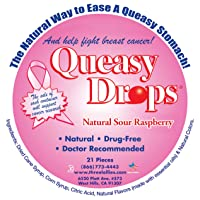 Queasy Drops – Supporting Breast Cancer Awareness | 21 Drops | Nausea Relief (Chemo...