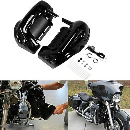XFMT Lower Vented Fairing W/Speaker Kit For Harley Touring Electra Road  Glide 83-13