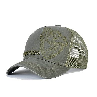 LONIY Brand Casual Snapback Baseball Caps Casquette Gorras for Men Women DSQ Black Trucker Summer Lette