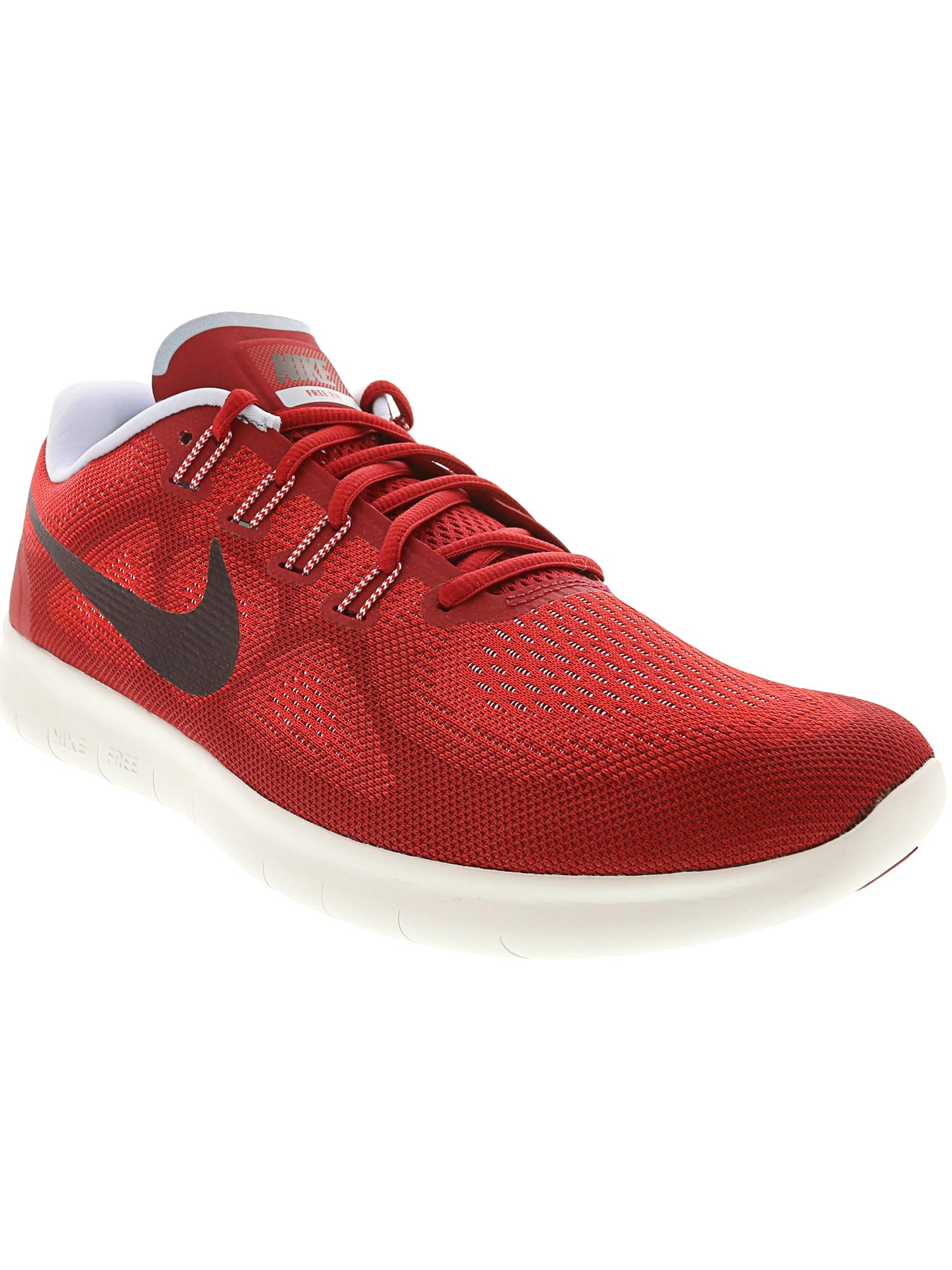 Nike Free RN 2017 Mens Running Trainers 880839 Sneakers Shoes (UK 7 US 8 EU 41, University red Port Wine 602) by Nike (Image #3)