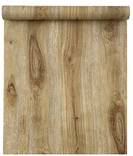 Blooming Wall Peel Stick Wood Panel Prepasted Wallpaper Wallcoverings For Wall 23 6in X 9 84ft Hhm05