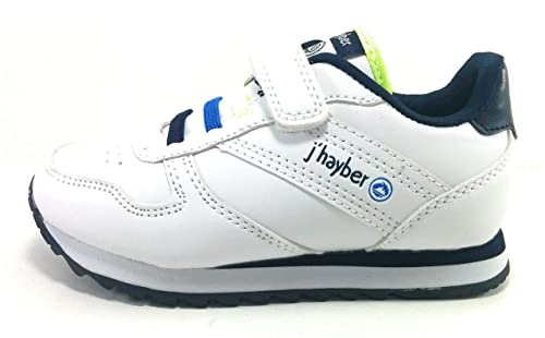 J`Hayber Zapatillas Bebe niño clásicas con Velcro (26 EU)