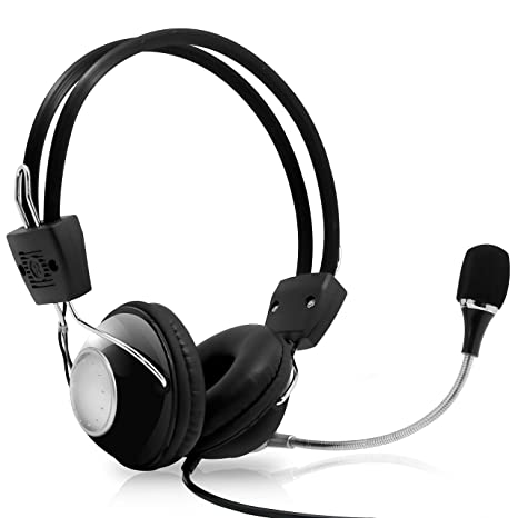 413a2ddb9a5 Multimedia Gaming USB Mic Headset - Over Ear Professional Wired Headphone  w  Noise Cancelling Mic
