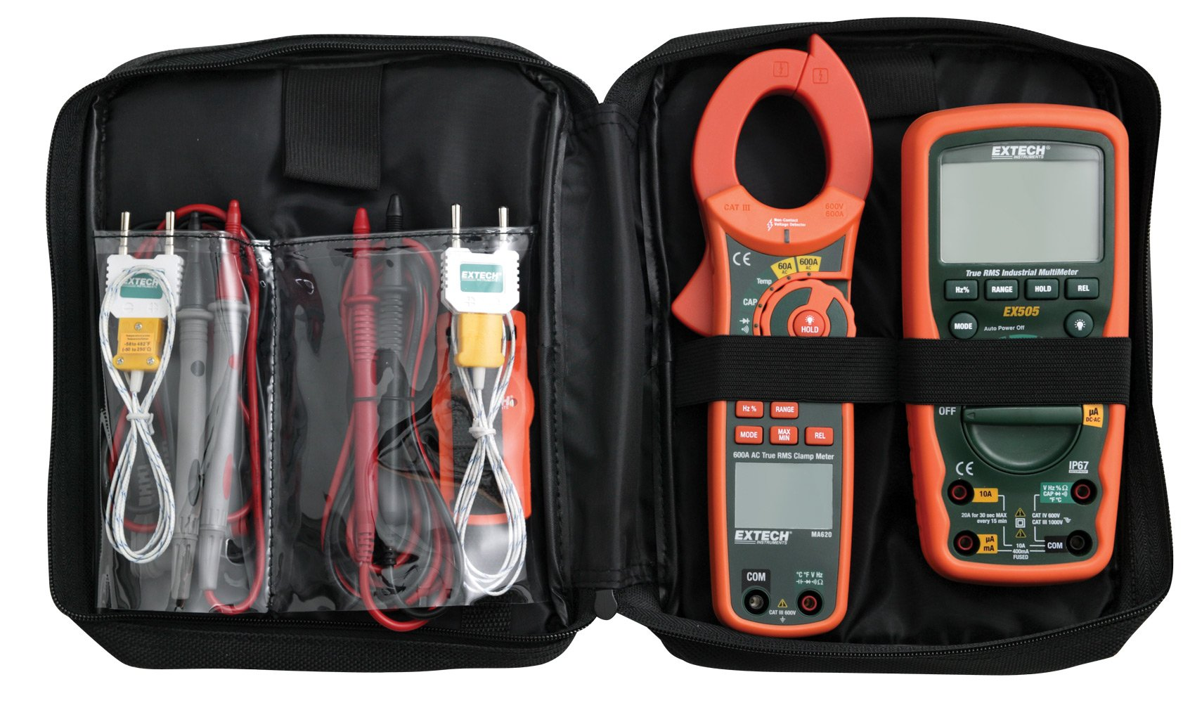 Extech MA620-K Industrial DMM/Clamp Meter Test Kit by Extech (Image #2)