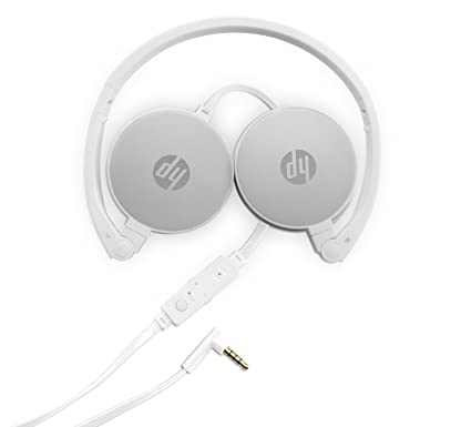 30b9aaec27c Amazon.in: Buy HP H2800 Stereo Foldable Headset with Mic (Silver) Online at  Low Prices in India | HP Reviews & Ratings
