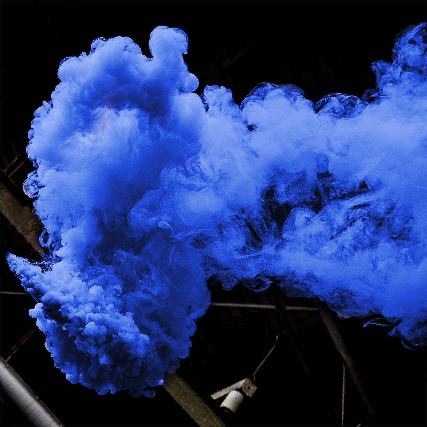 Rauchtopf Blau - Rauchfackel - 4 facher Rauch thumbnail