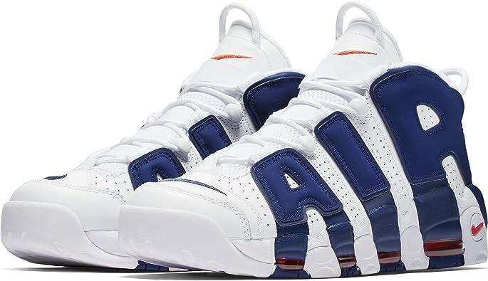 """Reunión demostración Enfatizar  Nike Air More Uptempo '96 """"New York Knicks"""" Retro Scottie Pippen,  Zapatillas Deportivas De Hombre: Amazon.es: Zapatos y complementos"""