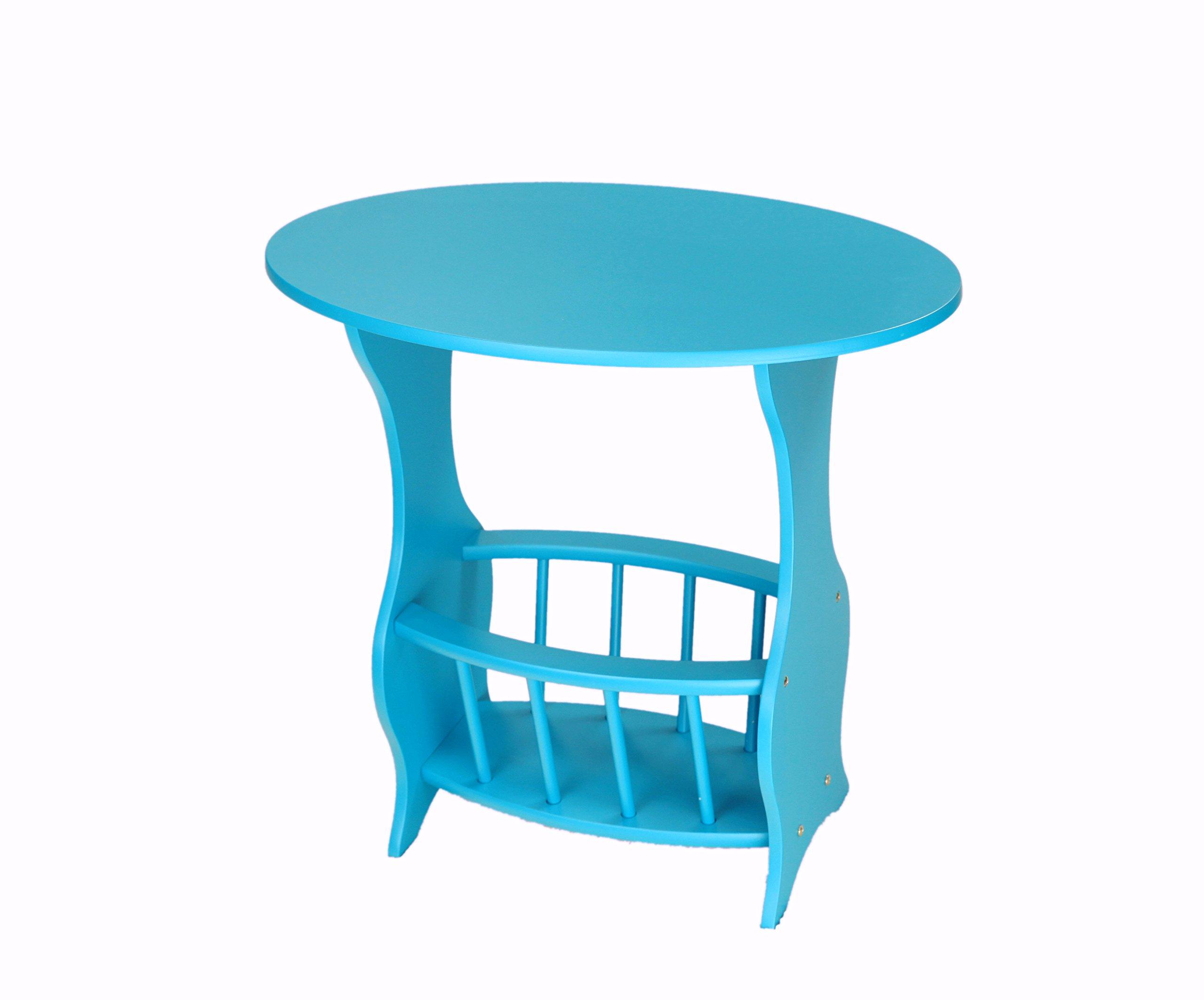 Frenchi Home Furnishing Magazine Table, Blue
