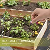 VIVOHOME 68-108°F Temperature Digital LED Heat Mat Thermostat Controller for Seed Germination Reptiles and Brewing