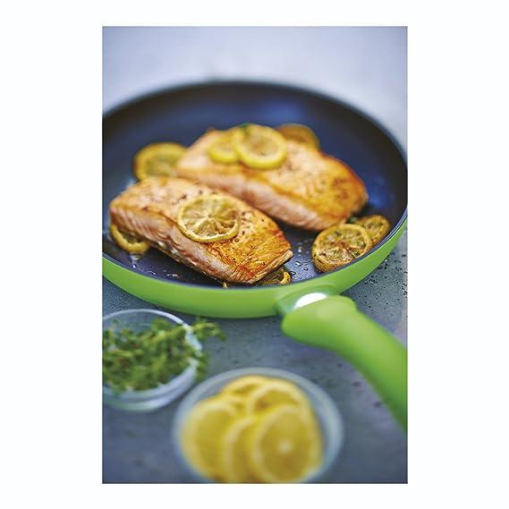 Amazon.com: Kuhn Rikon Colori Cucina 24 cm Non Stick Induction Frying Pan, Fuchsia: Kitchen & Dining