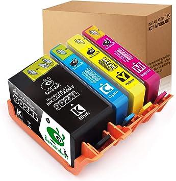 Amazon.com: Remandom - Cartucho de tinta de repuesto para HP ...