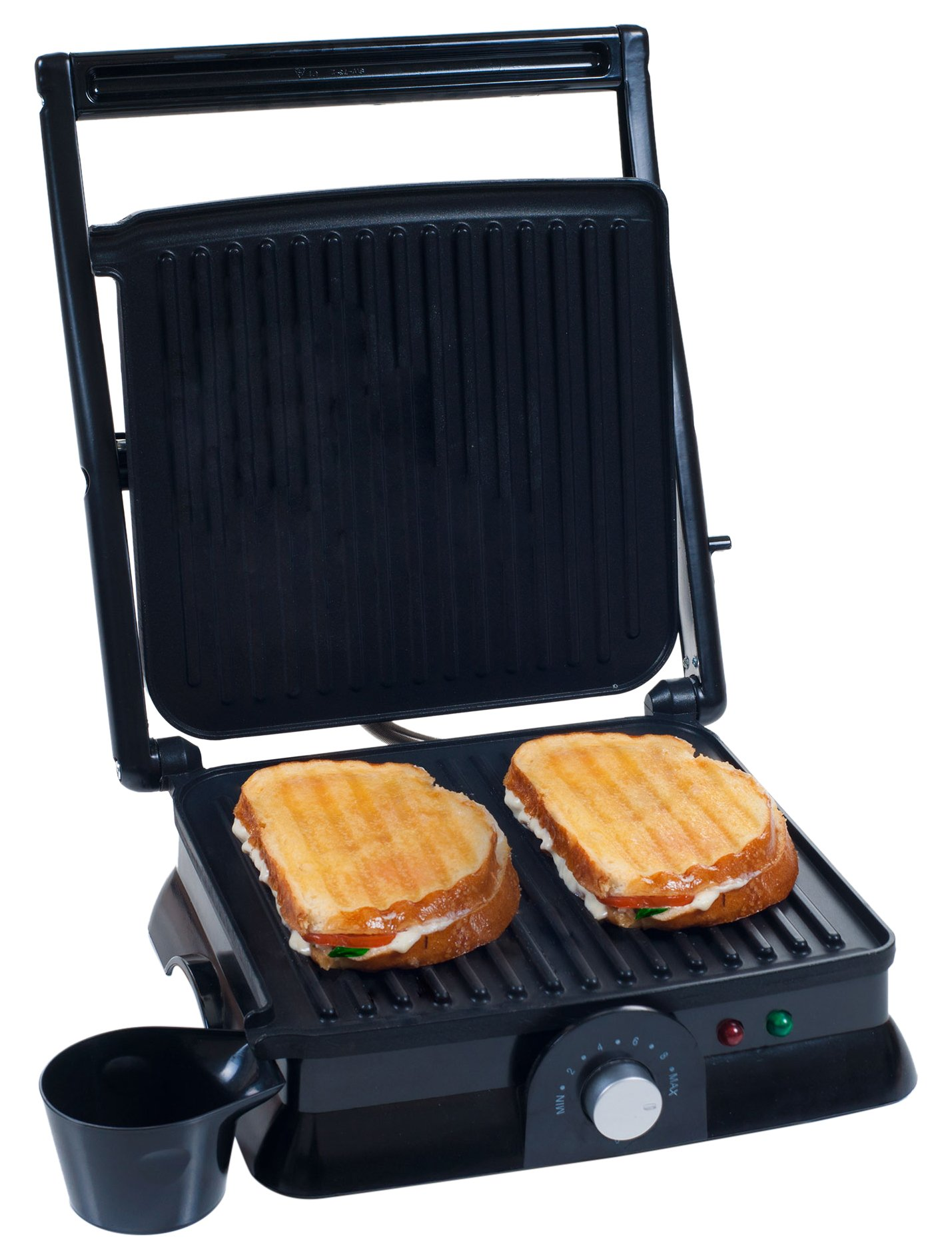 Chef Buddy 80-KIT1019 Panini Press Indoor Grill and Gourmet Sandwich Maker, Electric with Nonstick Plates by by Chef Buddy