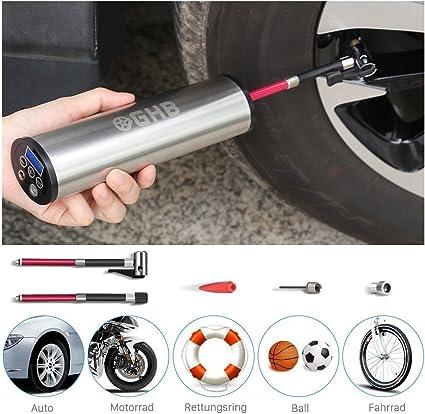 Kompakte Mini Pumpe Elektroreifen Inflator Auto Fahrrad Fahrrad Auto Auto Mini
