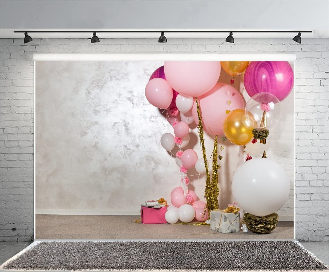 8x8FT Vinyl Wall Photography Backdrop,Lantern,Colorful Doodle Oriental Background for Baby Birthday Party Wedding Graduation Home Decoration