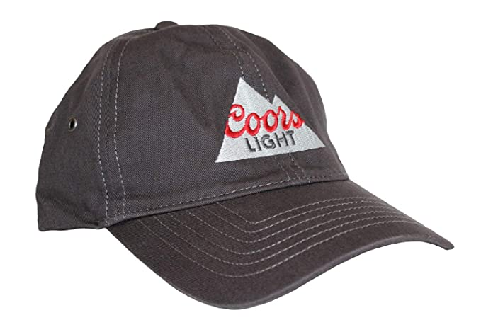 46c4e5229ee Image Unavailable. Image not available for. Color  Coors Light Outdoor Cap  Unisex Adult Coors Light Casual Hat