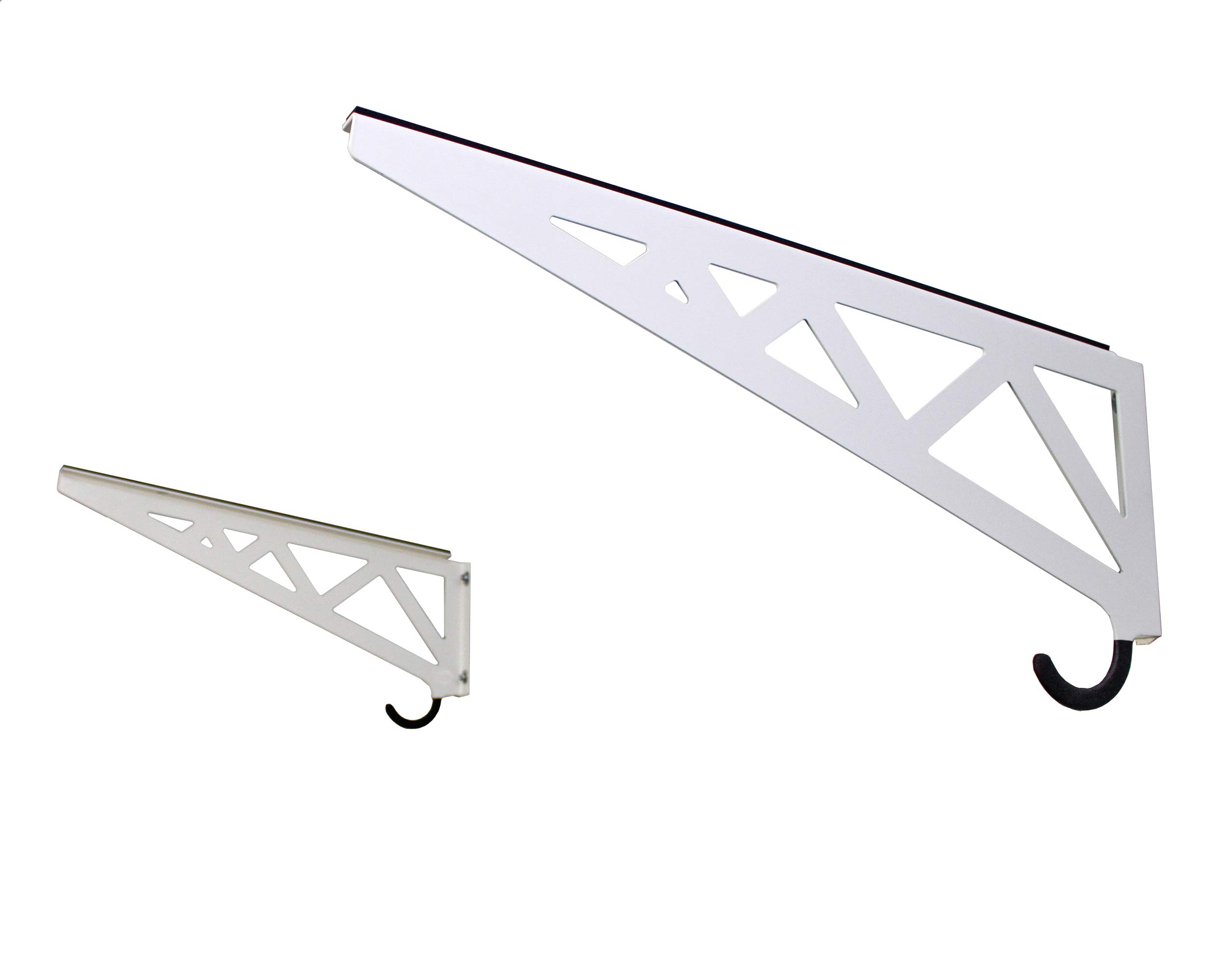 SafeRacks Paddleboard Rack - White (24'') by SafeRacks