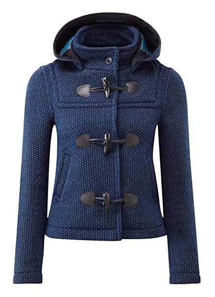 f981e13a88d6a0 Montgomery Donna Mayfair Cappotto Indaco: Amazon.it: Abbigliamento