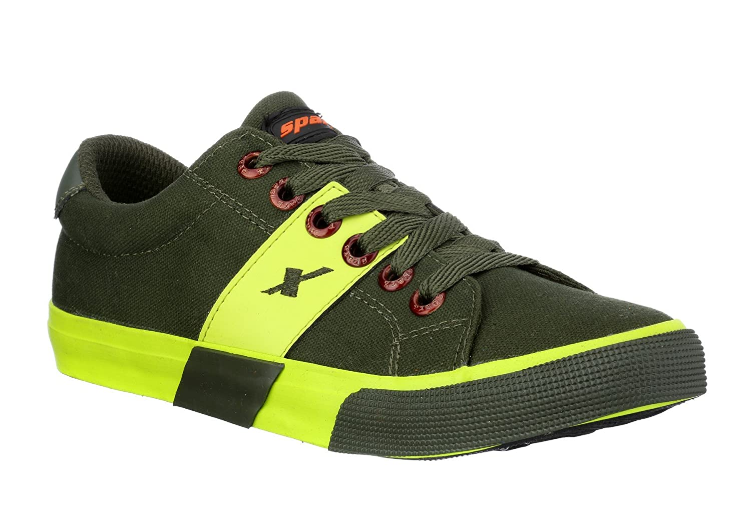 6ac3e26ea2e8 Sparx Men s Canvas Sneakers  Buy Online at Low Prices in India - Amazon.in