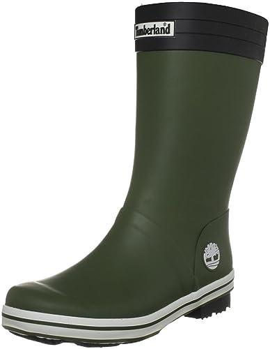 Timberland Waterproof Rain, Boys' Wellington Boots, Army Green, 13 UK Child