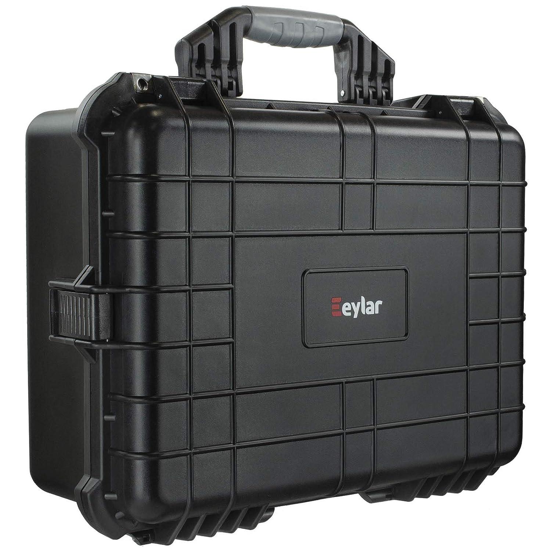 Eylar 保護カメラケース Mサイズ 20インチ 防水 耐衝撃 フォーム付き ブラック B07N4BT4Q8