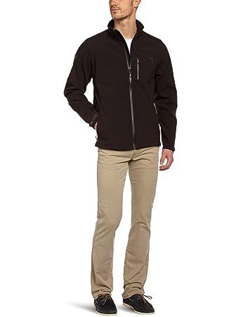 TBS Technisynthese Men s Zip-Up SoftShell Jacket black black Size FR   38 ( e781e9c456