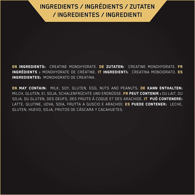 Optimum Nutrition ON Creatina Monohidrato Micronizada, Creatine en ...