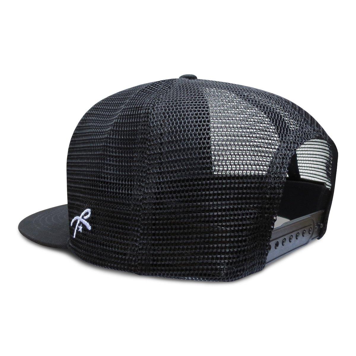Grace Folly Trucker Hat for Men & Women. Snapback Mesh Caps Black at Amazon Mens Clothing store: