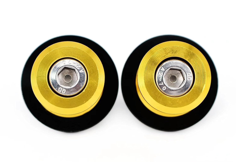 6mm Swingarm Spools Sliders Stand Bobbins For Yamaha MT-25 MT-03 YZF-R25 YZF-R3 2015-2016