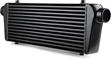 Frostbite Universal Air To Air Intercooler 11 X 12 X 3 Black