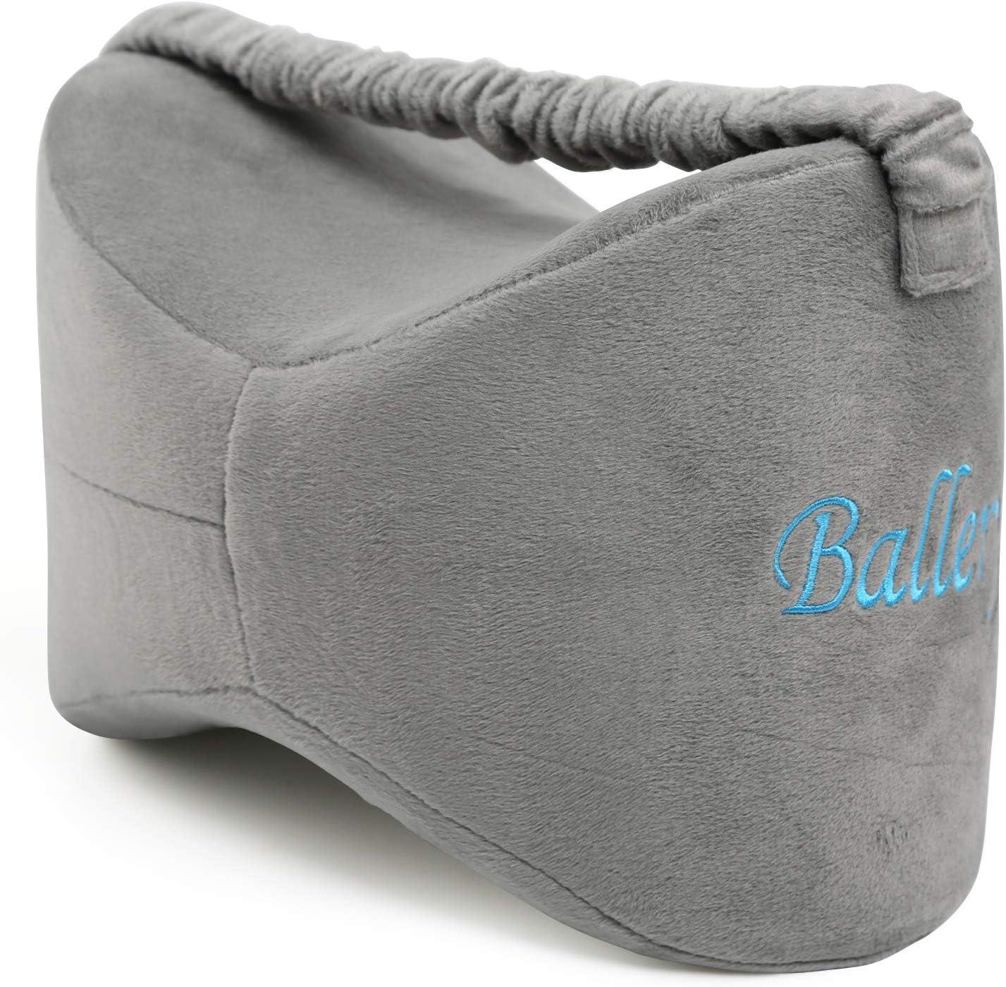 Rodilla almohada, Ballery pierna de espuma de memoria cojín para ciática Alivio, dolor de espalda, dolor en la pierna, embarazo, cadera y dolor en las articulaciones