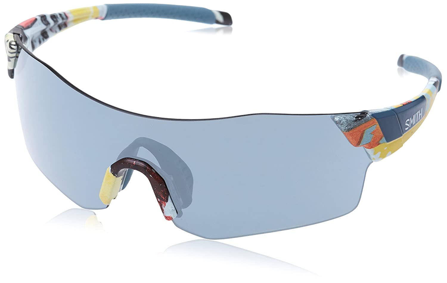 Blpetr Blflw//SIL Grey Speckled Cp Smith Unisexs PIVLOCK ARENA//N XB Sunglasses 99