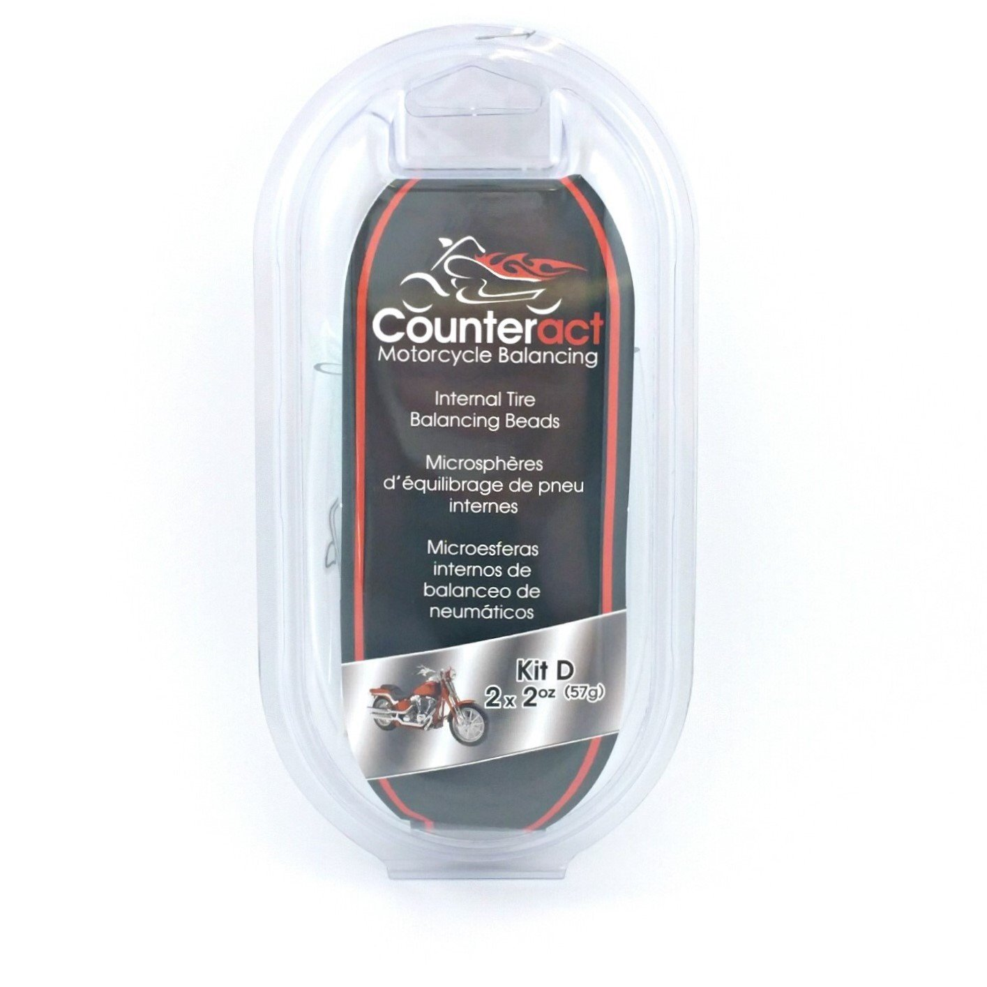 Counteract Kit D Motorcycle Balancing Beads - Kit D 2oz/2oz by Counteract