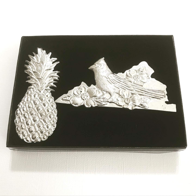 Virginia VA Welcome Home Travel Keepsake Magnets Pewter Gift Set