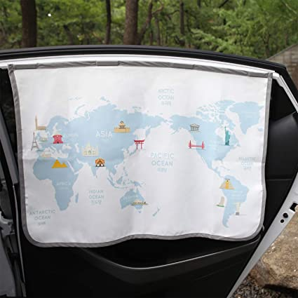 Magnetic Car Sun Shade Curtain - The Best Magnetic Sun Shade