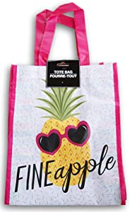 Summer Cool Tote Bag - Fineapple - 9 x 12 Inches