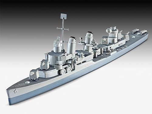 ドイツレベル 1/700 U.S.S. フレッチャー級駆逐艦 DD-445 05127