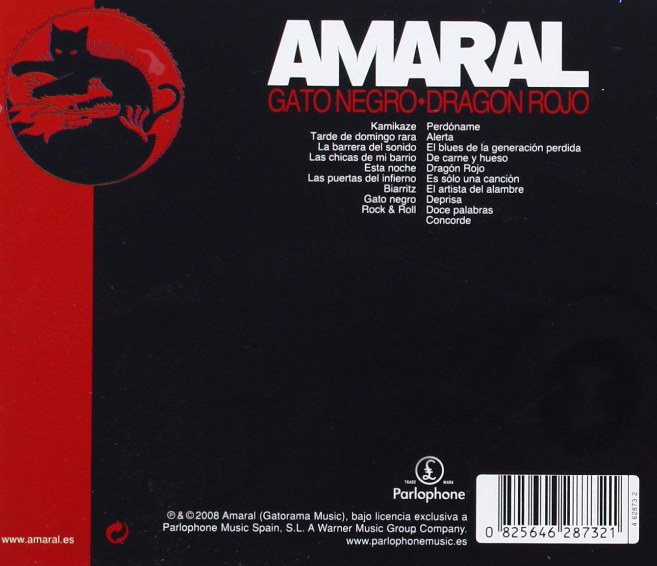 - Gato Negro Dragon Rojo - Amazon.com Music