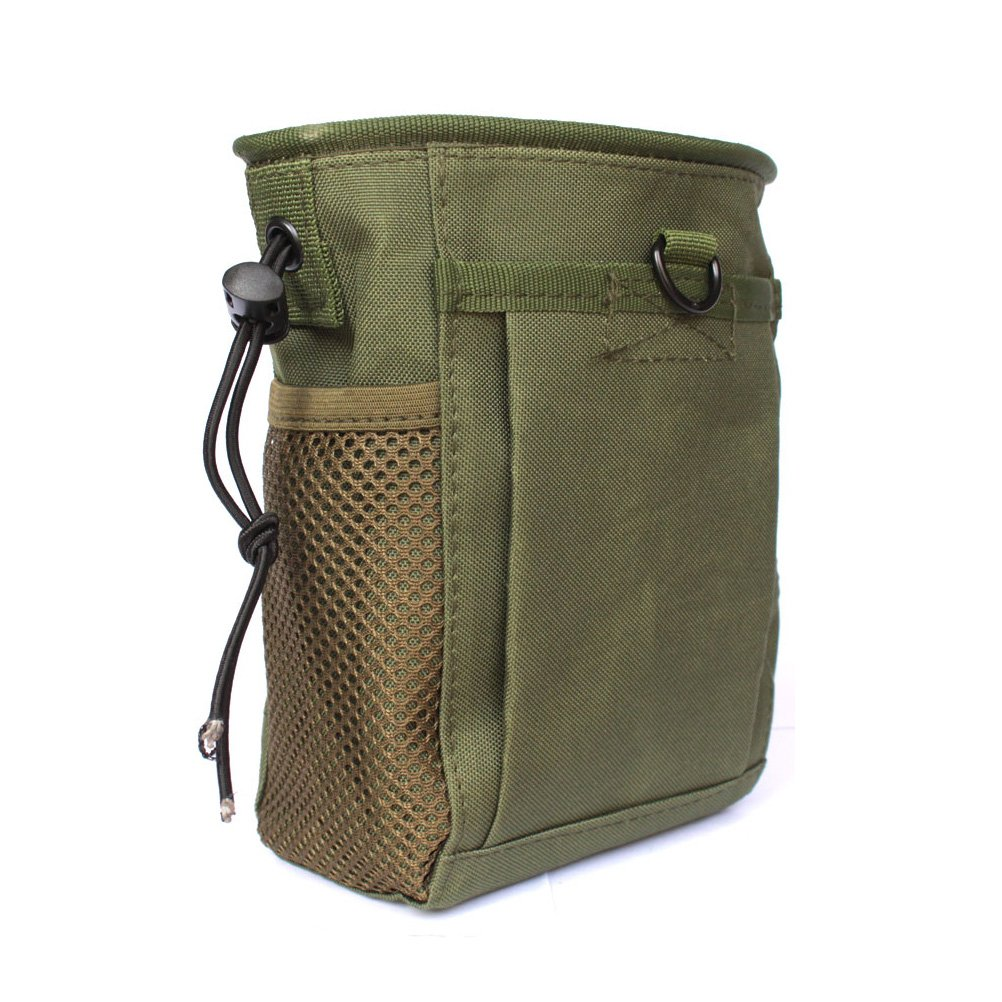 021551144c5e Tactical Molle drawstring Magazine Dump Pouch, Military Adjustable Belt  Utility fanny hip holster Bag Outdoor Ammo Pouch