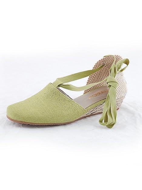gran venta 65b59 397bb Marion SpathArt.17-02-15-kiwi-43 - Alpargata Mujer , color ...