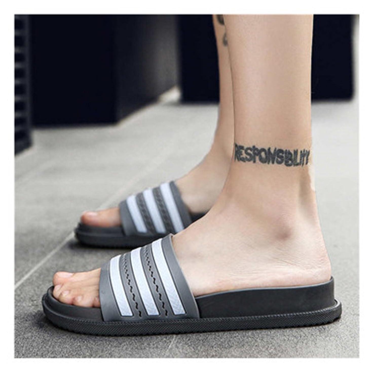 Adam Woolf 2018 New Summer Bathroom Slippers Women Men Unisex Non-Slip Indoor Home Slipper Outdoor Flip Flops Superstar Slides