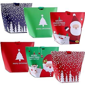 Amazon.com: Jovitec - Cajas de dulces de Navidad con lazos ...