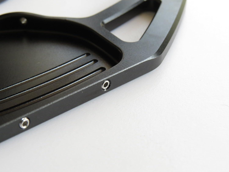 curva v1 Pinalloy Estensione in lega di alluminio per leva del cambio in lega metallica per 2008-16 A3 A4 A5 A6 A7 TT