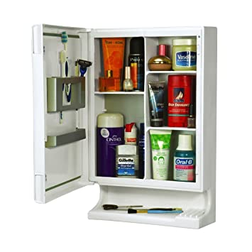 Cipla Plast New Look Bathroom Cabinet Set White Pieces