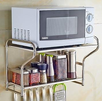 GRY Parrillas de horno de microondas de acero inoxidable 304 ...