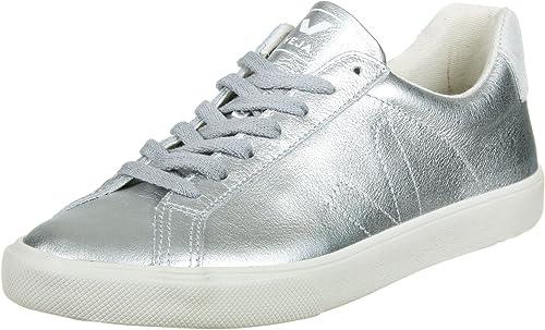 Veja Esplar Low Leather W Calzado silver pierre: Amazon.es: Zapatos y complementos