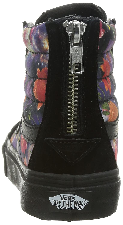 c72ea96ae57842 Vans Galaxy Floral SK8-Hi Slim Zip mens skateboarding-shoes VN-0XH8HTK 4 -  black black  Amazon.ca  Shoes   Handbags