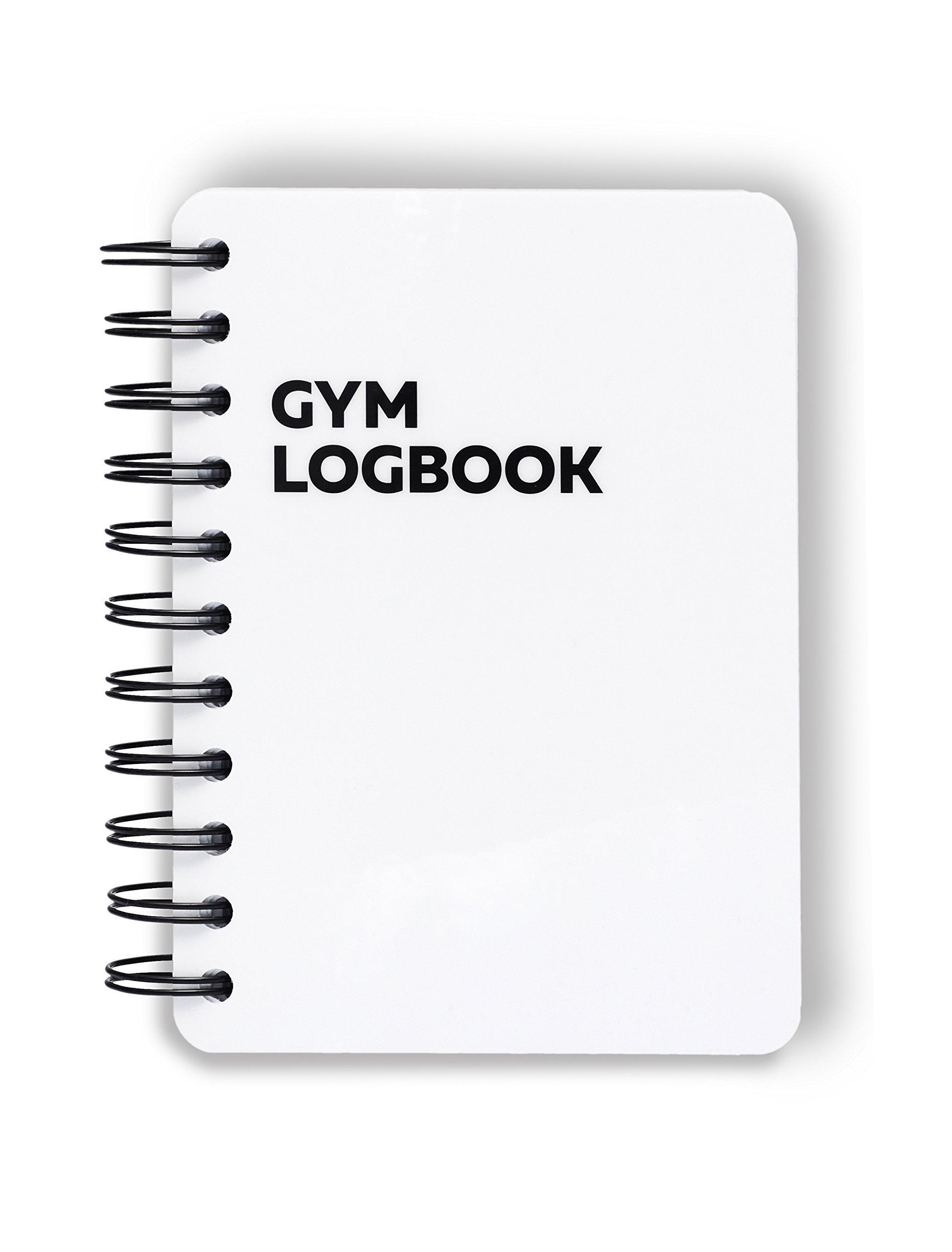 Gym Logbook: 115 Workouts – 4 x 6 inches – Thick Paper, Durable Cover, Round Corners, Wire-bound – Stylish, Minimalistic And Easy-To-Use Undated Workout Journal